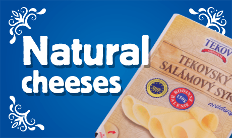 Natural cheeses