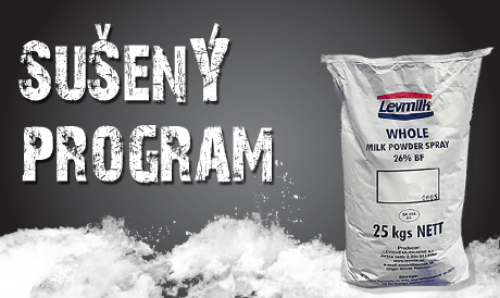 Suseny program levmilk